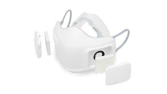 LG разработала маску для индивидуальной защиты с вентилятором на аккумуляторе