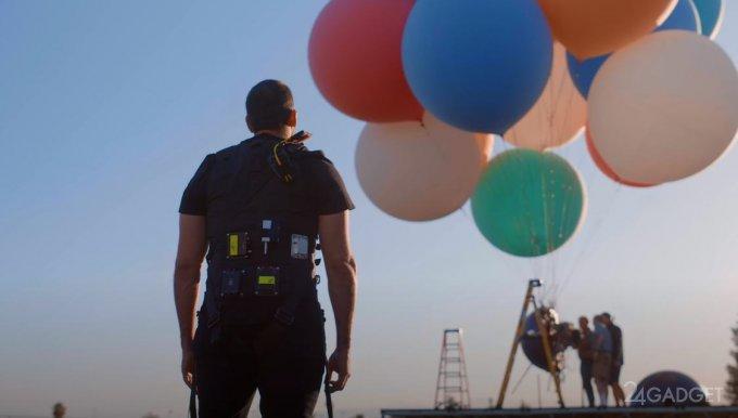Дэвид Блэйн готовит эксперимент - над Гудзоном на воздушных шариках (видео)