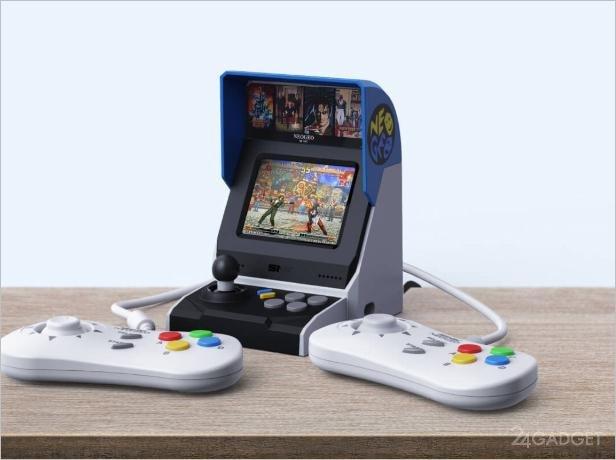 Мини консоль Neo Geo Mini Game с 40 классическими играми запускается Xiaomi (3 фото)