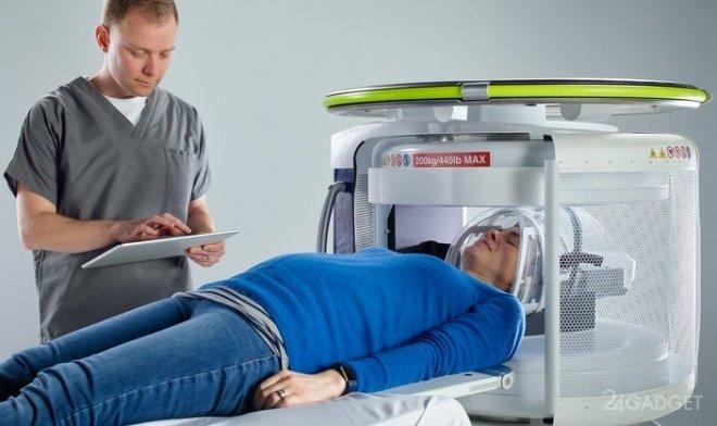 Испытания первого в мире мобильного аппарата МРТ прошли успешно (3 фото)