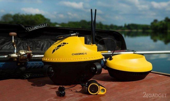 Дрон Chasing F1 позволит рыбакам отслеживать добычу под водой (3 фото + видео)