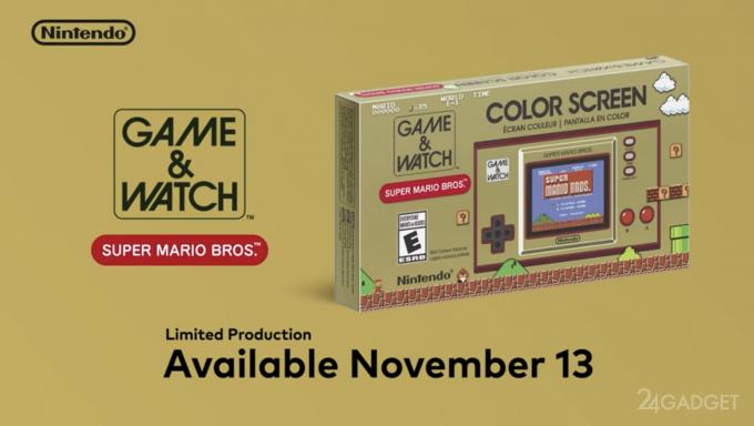 Nintendo выпускает ретро приставку Super Mario Bros к 35 летнему юбилею устройства