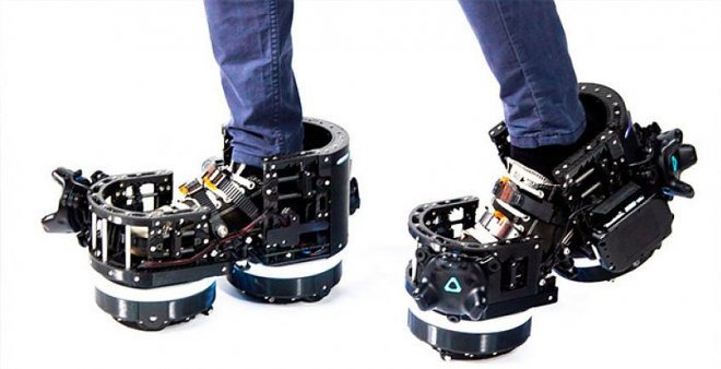 Ботинки Ekto One помогут «передвигаться» в виртуальном мире, оставаясь на месте в реальности (2 фото + видео)