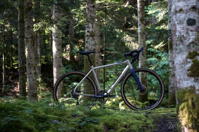Велосипед Choka самостоятельно подкачает спустившее колесо (3 фото)