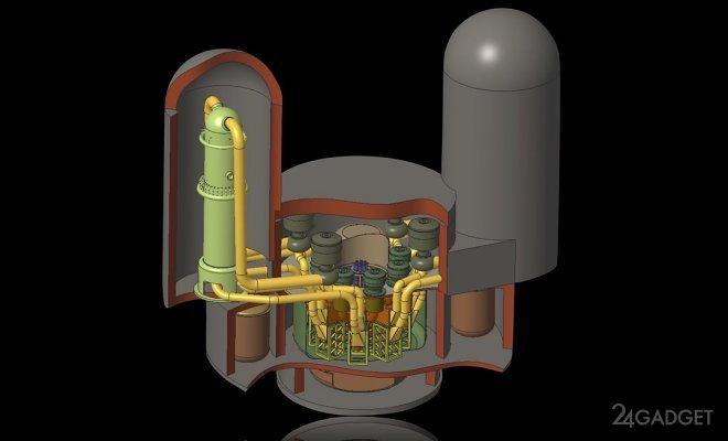 Реактор на расплавах солей дешевле в эксплуатации и перерабатывает ядерные отходы