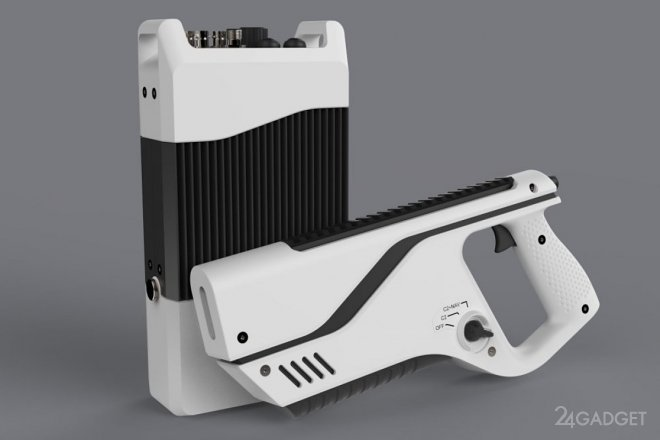 Электронная пушка Paladyne E1000MP обезвредит дрон и выявит оператора (2 фото)
