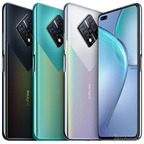 Камерофон Infinix Zero 8 вышел в продажу в России