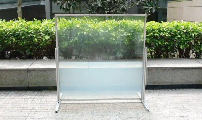 Жидкостное смарт-стекло защитит от жары днем и сохранит тепло ночью (2 фото)