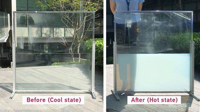 Жидкостное смарт-стекло защитит от жары днем и сохранит тепло ночью