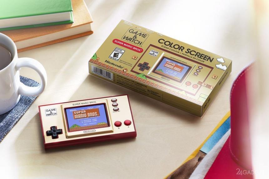 В России открыта продажа игровой приставки Nintendo Game & Watch, аналогичной советским консолям «Ну, погоди»