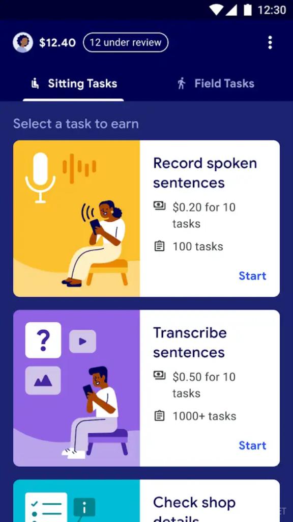 Приложение Task Mate от Google предоставит дополнительный заработок для любого пользователя (3 фото)