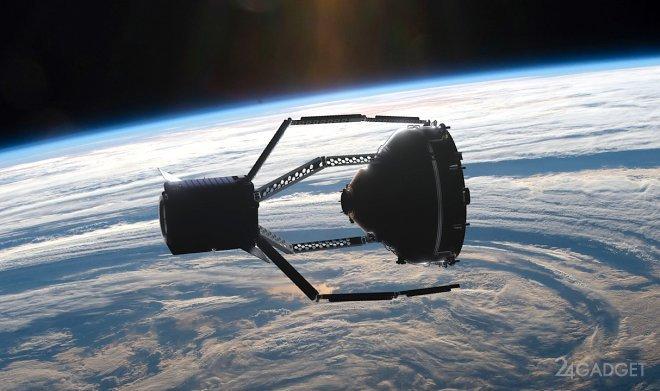 Европейская космическая «Клешня» очистит орбиту от «мертвых» спутников (видео)