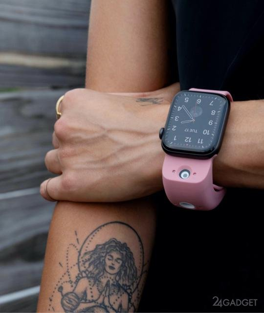 Новые ремешки Wristcam для Apple Watch получают две встроенные HD камеры (5 фото)