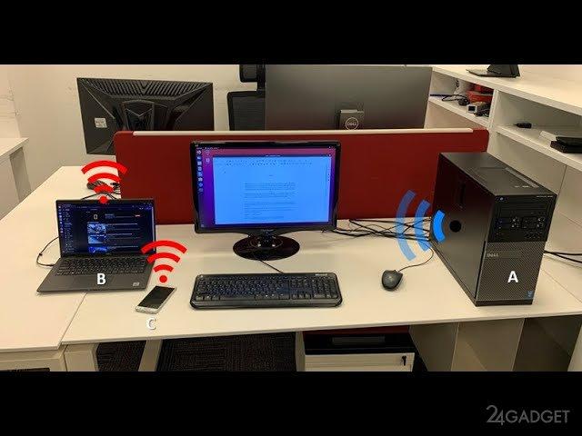 Информация с компьютера может быть похищена через оперативную память, превращенную в Wi-Fi роутер