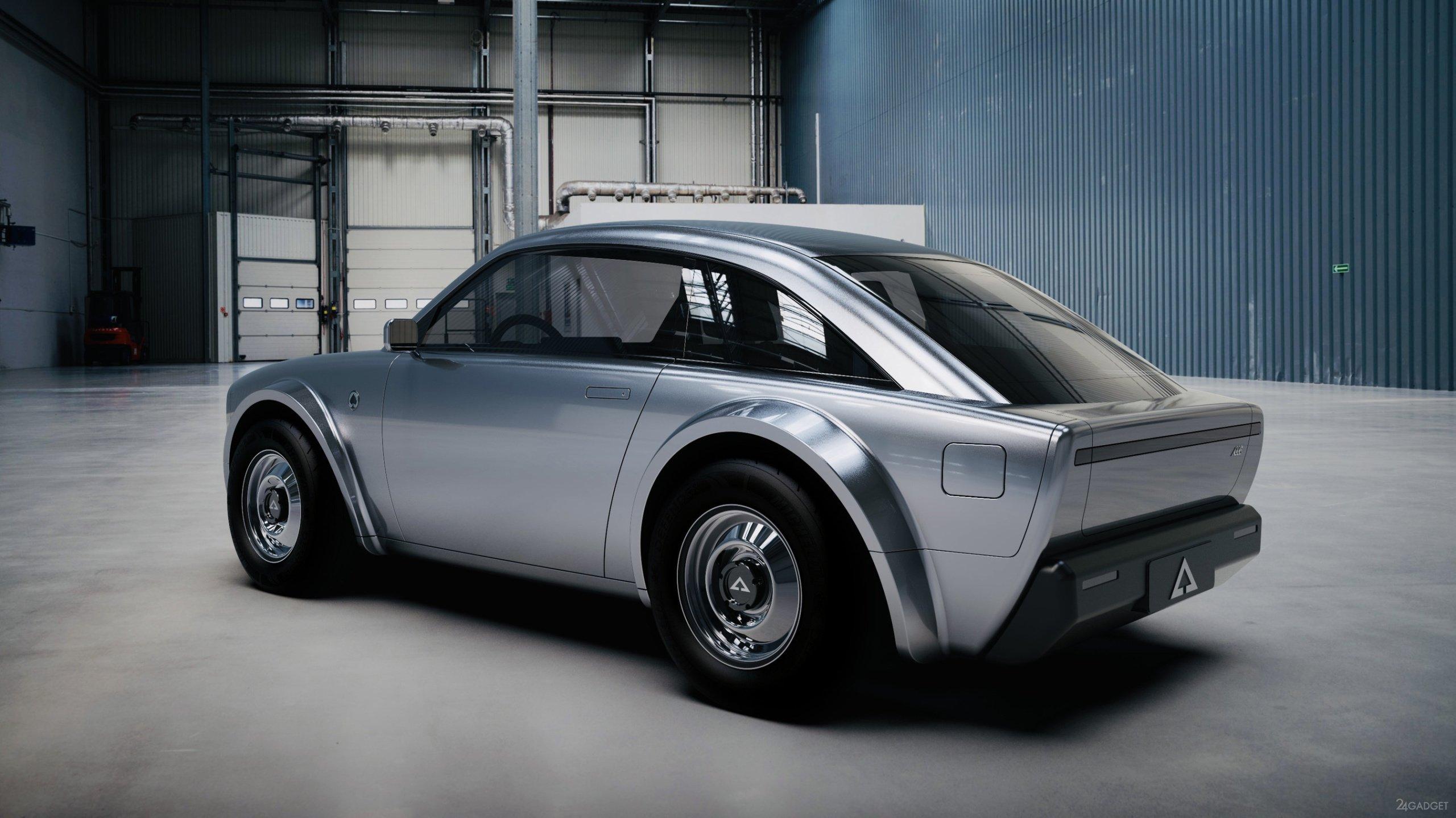 Alpha Motor анонсирует электрическое купе Alpha ACE в ретро стиле