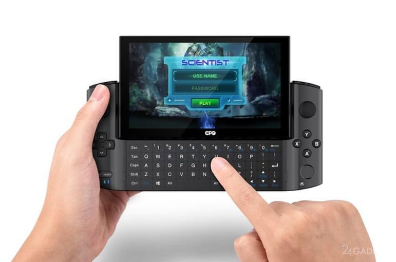 Портативную игровую консоль GPD Win 3 с графикой Intel Iris Xe выведут на Indiegogo по цене 799 долларов