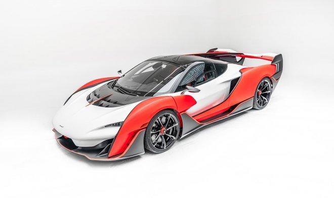 Выпущен самый мощный суперкар Sabre от компании McLaren (4 фото)