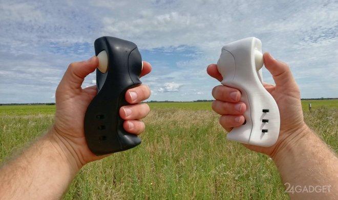 Контроллер Knukles-5 для управления беспилотным аппаратом одной рукой (2 фото + видео)