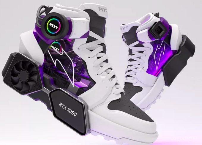Выпущены кроссовки со встроенной видеокартой RTX 3080 (видео)