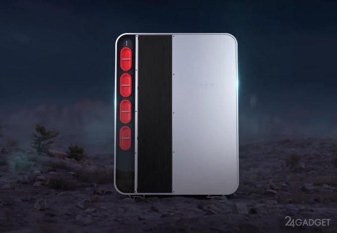 Представлена первая в мире бытовая аккумуляторная водородная батарея (видео)