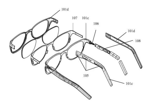 Xiaomi запатентовала смарт-очки излечивающие головную боль, борющиеся с депрессией и усталостью