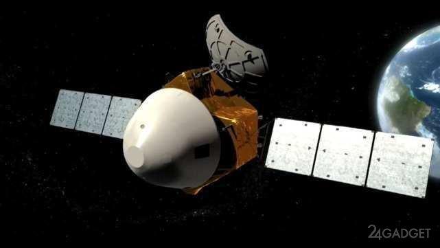 Китайская экспедиция приближается к Марсу и шлет первые детальные фотографии планеты (2 фото)