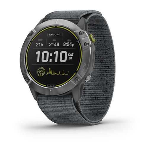 Смарт-часы Garmin Enduro с солнечной батареей и автономностью до 65 суток (5 фото + видео)
