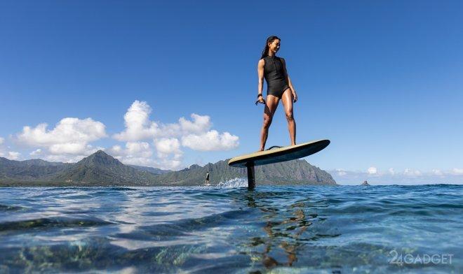 Компания Fliteboard презентовала второе поколение электрических серферов на подводных крыльях (3 фото + видо)