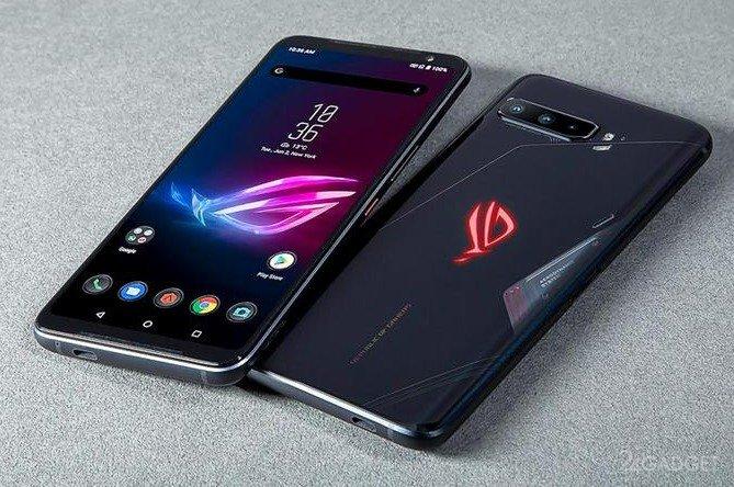 Игровой смартфон ASUS получит 18 ГБ оперативной памяти
