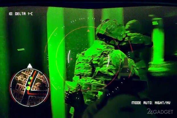 Армейские очки IVAS позволят солдатам США вести наблюдение сквозь стены боевых машин (5 фото)