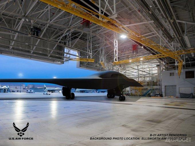 Опубликованы первые фотографии новейшего бомбардировщика-невидимки B-21 Raider