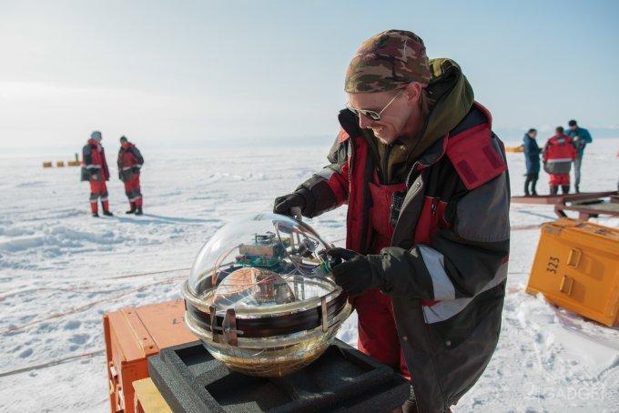 На дно Байкала поместили телескоп для обнаружения нейтрино, прилетающих из космоса