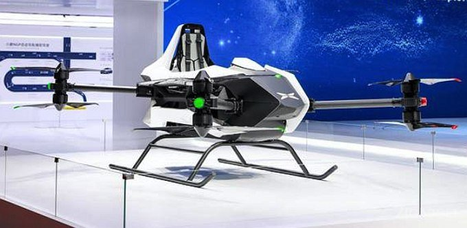 Xiaopeng Motors анонсировала летающий пассажирский дрон Traveler X1 (2 фото)
