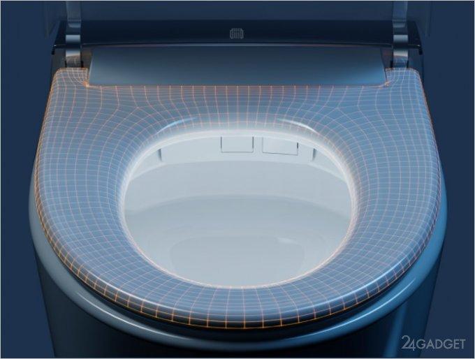 На краудфандинг выведен умный унитаз Xiaomi с подогревом, сушилкой, подсветкой и дезодорацией