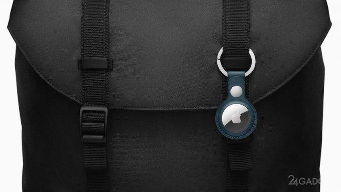 Представлен трекер Apple AirTag, обеспечивающий поиск вещей с помощью сети Find My (6 фото  видео)