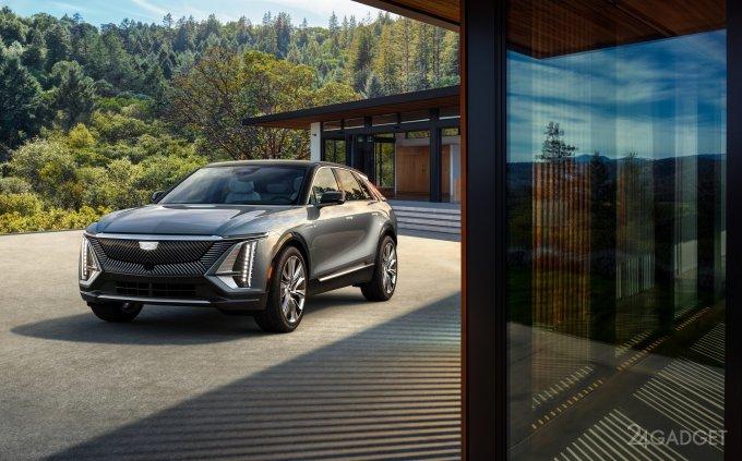 Cadillac представила первый фирменный серийный электромобиль LYRIQ с автономным пробегом до 480 км (9 фото  видео)