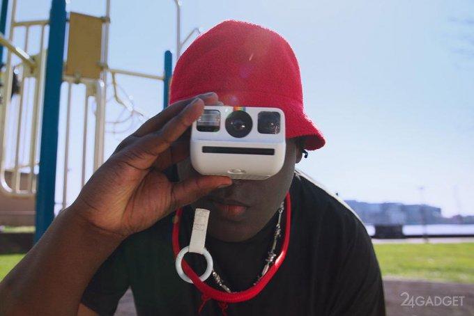 Представлена компактная камера мгновенного действия для новичков Polaroid Go (3 фото  видео)