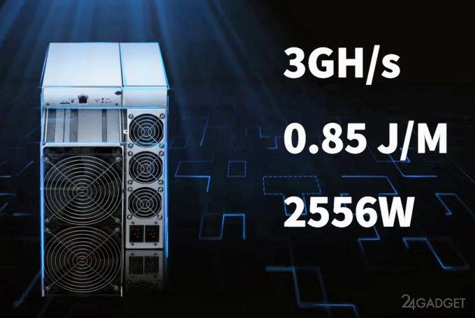 ASIC майнер Bitmain Antminer E9 заменит 32 видеокарты GeForce RTX 3080