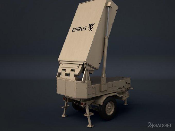 Микроволновое орудие Leonidas для борьбы с роем дронов