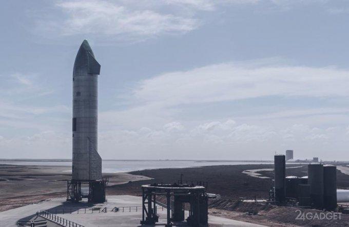 SpaceX провела удачное испытание прототипа Starship и посадила корабль без взрывов