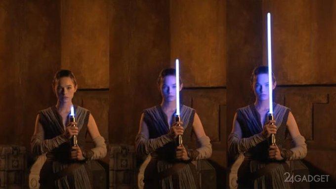 Disney создала реальный выдвигающийся световой меч джедаев из Звездных войн (видео)