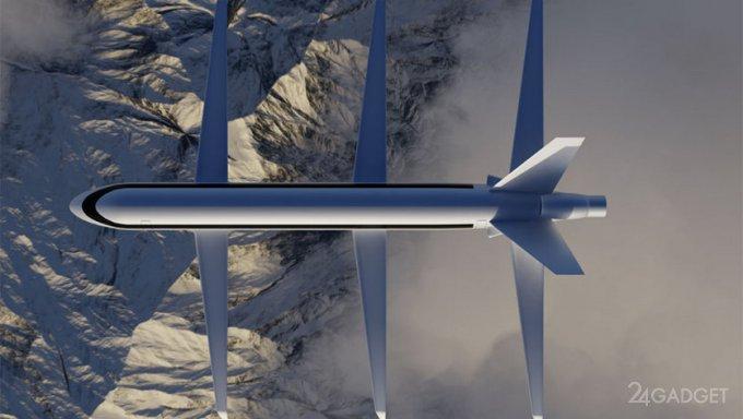 Самолет SE200 с тремя парами крыльев приведет к революционным изменениям в пассажирских авиаперевозках