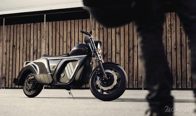 Электрический мотоцикл Zaiser Electrocycle проедет на одном заряде аккумулятора до 500 км (2 фото)