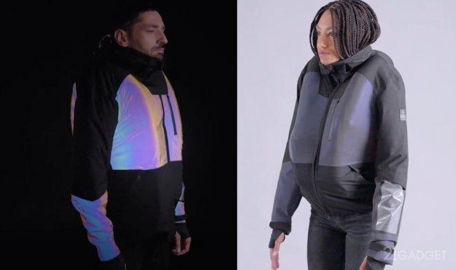 Надувная куртка Cirrus Airbag защитит велосипедиста от травм (3 фото + видео)