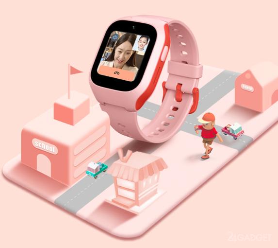 Xiaomi начинает продажу детских смарт-часов MITU Children 4G Phone Watch 5C (3 фото)