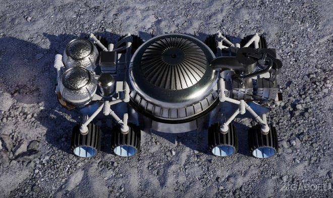 Ракетная система Masten будет добывать воду на Луне (2 фото + видео)