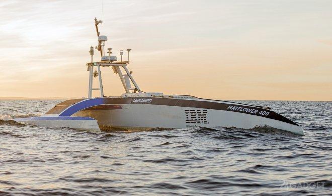 Судно-робот Mayflower пересечет Атлантику без экипажа (3 фото + видео)