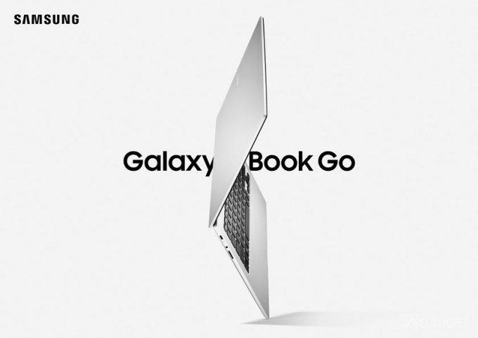 Представлен бюджетный ноутбук Samsung Galaxy Book Go на ARM архитектуре под Windows 10 по цене от 349 долларов (4 фото)