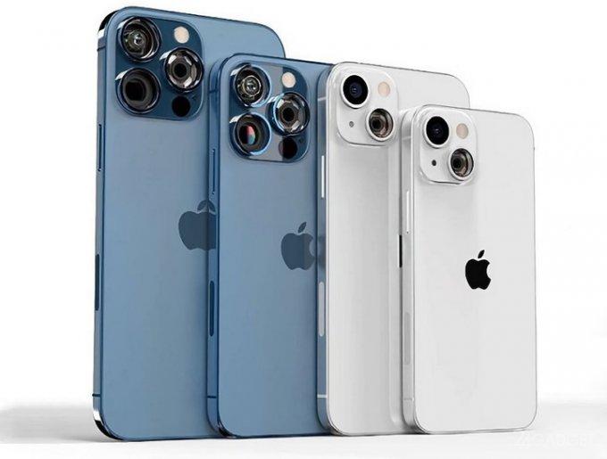 Показан дизайн нового поколения Apple iPhone 13 с прозрачным модулем камер