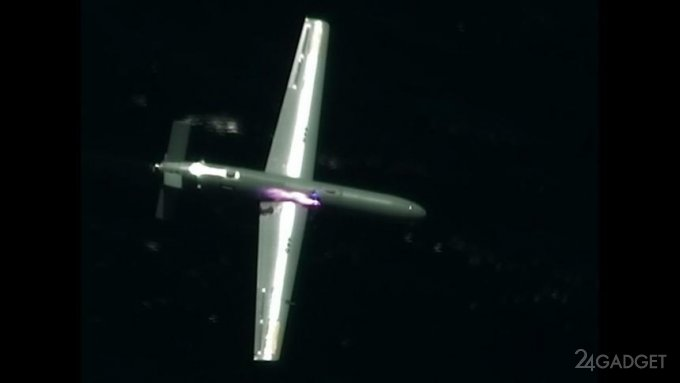 Израиль продемонстрировал умение сбивать беспилотники с помощью лазера